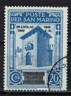 San Marino 1943 // Mi. 273 O (031..758) - San Marino