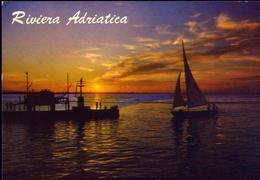 Riviera Adriatica - Crepuscolo - 13016 - Formato Grande Viaggiata – E 9 - Non Classificati