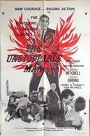 "AFFICHE ORIGINALE ""THE UNSTOPPABLE MAN"" 1961 CAMERON MITCHELL - Manifesti & Poster"