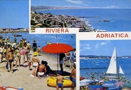 Riviera Adriatica - Formato Grande Viaggiata – E 9 - Non Classificati