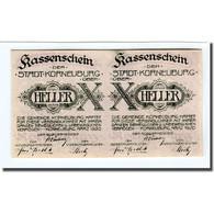 Billet, Autriche, Korneuburg, 20 Heller, Texte 2, 1920, SPL, Mehl:466a - Autriche