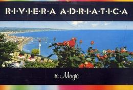 Riviera Adriatica - Is Magic - Formato Grande Viaggiata – E 9 - Non Classificati