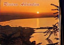 Riviera Adriatica - Panorama Al Tramonto - Formato  Grande Viaggiata – E 9 - Non Classificati