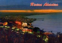Riviera Adriatica - Panorama Da Gabicce Monte - Notturno - 13205 - Formato  Grande Viaggiata – E 9 - Non Classificati