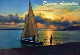 Riviera Adriatica - Tramonto - 1 - Formato Grande Viaggiata – E 9 - Non Classificati