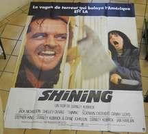 "Affiche Poster Cinéma ""Shining"" Jack Nicholson Shelley 156x116 Cm Stephen King Warner Bros 1980 - Affiches"