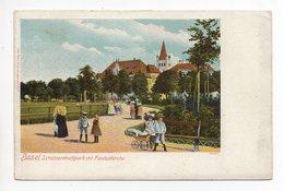 BASEL Schützenmattpark Mit Pauluskirche Kinder Kinderwagen - BS Bâle-Ville