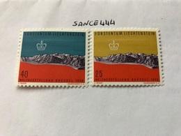 Liechtenstein World Expo 1958 Mnh - Liechtenstein