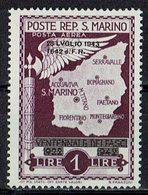 San Marino 1943 // Mi. 287 ** (031..763) - San Marino