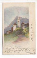 LITHO Stalden VS Eglise Gel. 1900 N. Luzern - VS Wallis
