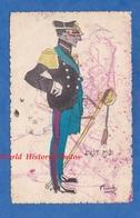 CPA Patriotique - BENGHAZI / BENGASI Libye / Libia - Cachet Ufficio Dell'incaricato Di Funzioni Politiche - 1916 Ww1 - Guerra 1914-18
