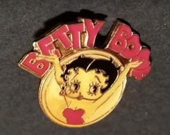PIN'S  BETTY BOOP 1987 KFS INC FLEISCHER STUDIOS INC - Pin's & Anstecknadeln
