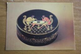 """ZAGORSK  Postcard  """"PLAYING CHESS"""" Palekh - JEU - ECHECS. 1986 - Chess"""