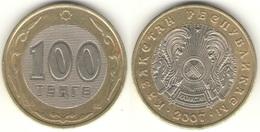 Kazakhstan - 100 Tenge 2007 UNC  Bank Bag - Kazakhstan