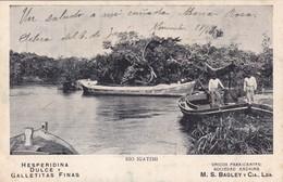 HESPERIDINA DULCE Y GALLETITAS FINAS. UNICOS FABRIANTES, SOCIEDAD ANONIMA, M.S. BAGLEY Y CIA. Lda. VOYAGE 1904- BLEUP - Reclame