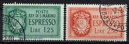 San Marino 1943 // Mi. 309/310 O (031..765) - San Marino