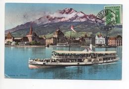 LUZERN Salondampfer Unterwalden - LU Lucerne