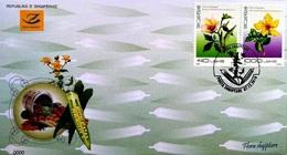 Albania Stamps 2018. Flora: Okra, St John's-wort. FDC MNH - Albania