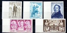 MONACO N°764/68 - Unused Stamps