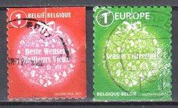 Belgium 2015 - Christmas - Mi.4613-14 - Used - Oblitéré - Belgium