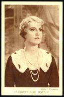 Jeanette MAC DONALD - Non Circulé - Not Circulated - Nicht Gelaufen. - Schauspieler