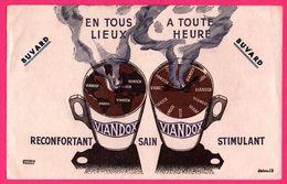 BUVARD Illustré Par J.B. - VIANDOX - En Tous Lieux, A Toute Heure - Réconfortant Sain Stimulant - Alimentaire