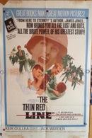 "AFFICHE ORIGINALE ""THE THIN RED LINE"" 1964 JACK WARDEN - Manifesti & Poster"