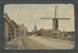 Oude Briefkaart  Roosendaal. Kalsdonksche Straat 1908 - Roosendaal