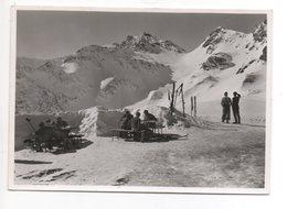 WANGS Pizol-Hütte S.A.C. Stempel Ski Hütte Gel. 1945 V. Sargans N. Zürich - SG St. Gall