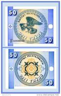 Kyrgyzstan - 50 Tyiyn 1993 UNC - Kirghizistan