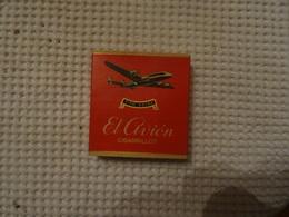 ETUI VIDE DE 16 CIGARRILLOS - EL AVION -  R. PEREZ MELIAN - LAS PALMAS DE GRAN CANARIA - Étuis à Cigares