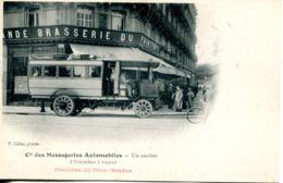 N°67480 -cpa Cie Des Messageries Automobiles -l'omnibus à Vapeur De Dion Bouton- - Bus & Autocars