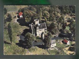 CP (45) Saint-Germain-des-Prés  -  Château De Courbevaux - Vue Aérienne - France