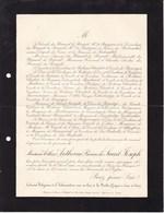 La ROCHE-GUYON Seine Et Oise Arthur ANTHOINE Baron De Saint-Joseph 82 Ans 1911 Paris Famille Du HAMEL De BREUIL - Obituary Notices
