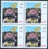 BRAZIL 2018  - NATIONAL MUSEUM OF RIO DE JANEIRO -  BLK OF 4 -  MINT - Unused Stamps