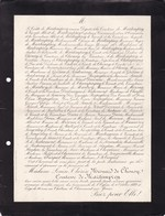 Château De CHAUMONT-sur-YONNE Louise MESNARD De CHOUSY Comtesse De MARTIMPREZ 66 Ans 1889 - Obituary Notices
