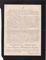Château De HAUTEVILLE Mayenne Emilie De PERUSSE Des CARS Comtesse De MONTESQUIOU FEZENSAC 58 Ans 1901 - Obituary Notices