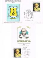 Argentinien / Argentina 1874, Michel 1169: 2 Karten Justo Santa María De Oro - Katholische Kirche, Religion, Geschichte - Argentinien