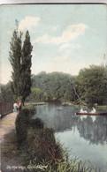GUILDFORD. ON THE WEY. RIVER VINTAGE LANDSCAPE. F FRITH & Co. CIRCA 1900s NON CIRCULEE- BLEUP - Surrey