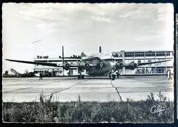 Cpsm Du 31 Aéroport De Toulouse Blagnac -- Bréguet 2 Ponts Provence Compagnie Air France   YN31 - Toulouse