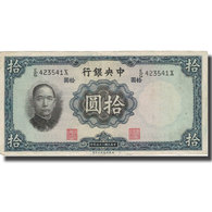 Billet, Chine, 5 Yüan, 1936, 1936, KM:213a, TB+ - Chine