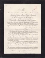 Château De FARGUES CANTAL Louis De CASSAIGNES De BEAUFORT Comte De MIRAMON-FARGUES 43 Ans 1908 - Obituary Notices