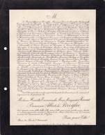 PARIS Henriette Marguerite D'HARCOURT Princesse Albert De BROGLIE 27 Ans 1909 - Obituary Notices