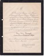 NICE FONTAINEBLEAU Mary Sabina NASMYTH Comtesse Edouard DRUMMOND De MELFORT 1878 Van HAVRE - Obituary Notices