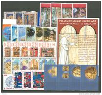 Vaticano 2001 Annata Completa/Complete Year MNH/** - Vaticano