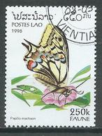 Laos YT N°1215 Papillon Papilio Machaon Oblitéré ° - Laos