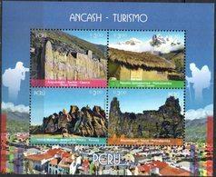 Peru 2018 ** HB ANCASH. Turismo. Arqueología. Montañas. Formación Rocosa. - Peru