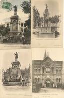 63 CLERMONT-FERRAND LOT 6 CARTES Eglise Des Minintes Place Saint-Héren Monument D'Urbain II Place Royale - Clermont Ferrand