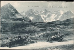 Le Lautaret & Le Massif De La Meije -- Belle Animation -- CPA Dos Vert -- NEUVE - Non Classés