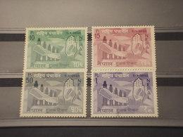 NEPAL -1963 VEDUTE? 4 VALORI - NUOVI(++) - Nepal